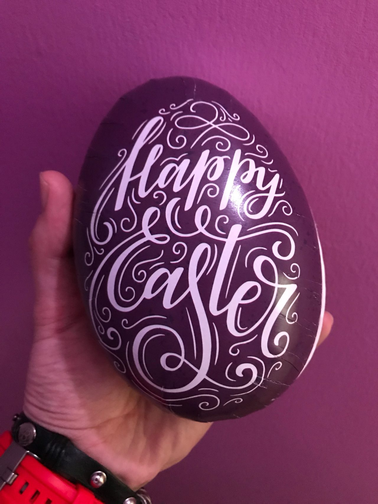 Purple Candy Easter Egg Gift
