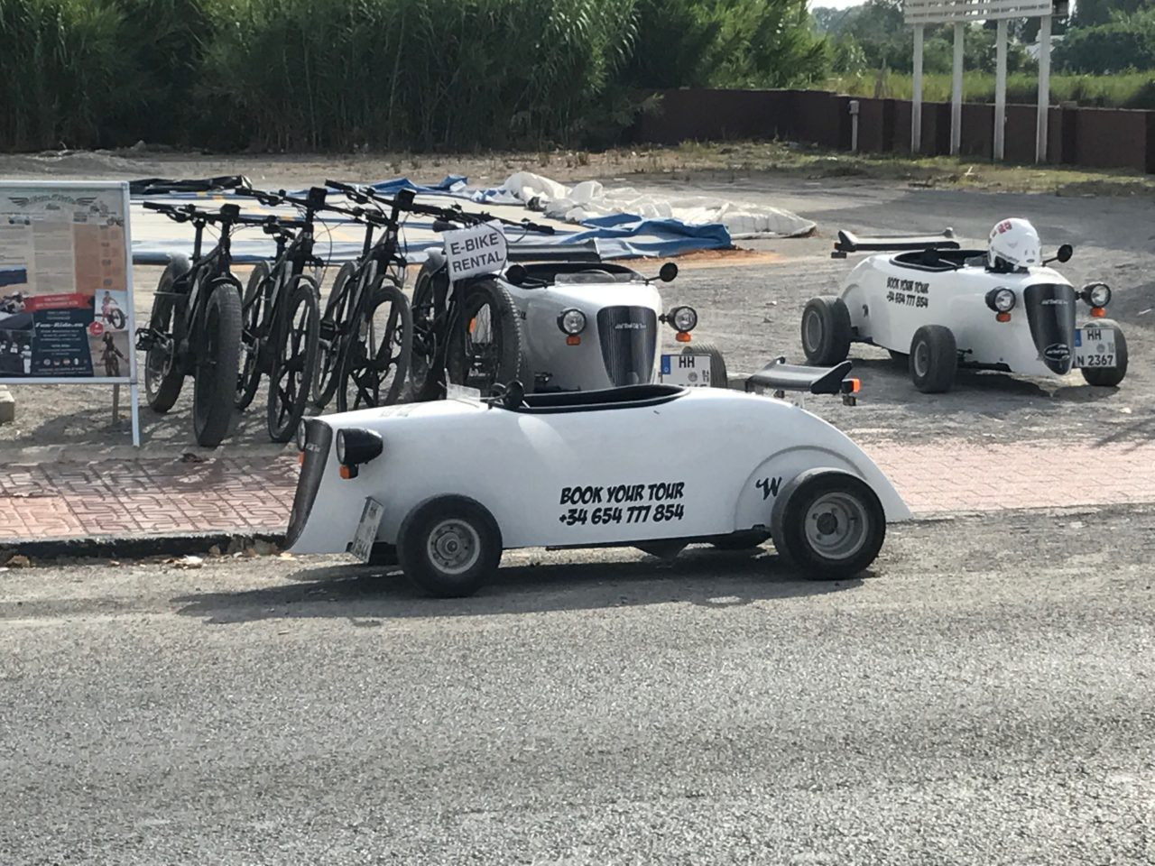Street-Legal Mini Go Cart Car And Bikes