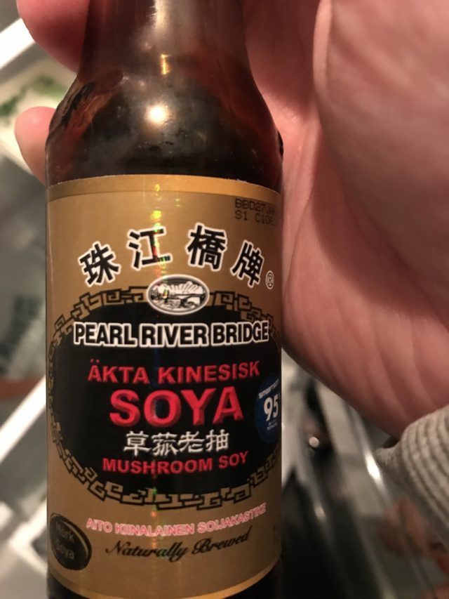 Authentic Chinese Mushroom Soy Sauce