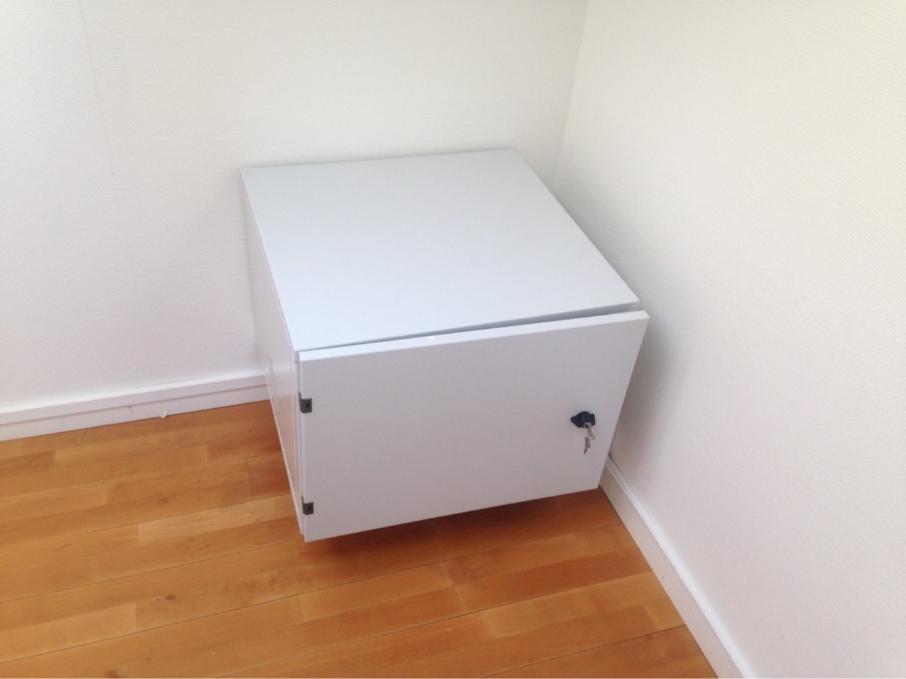 Server Box In A Corner With Keys