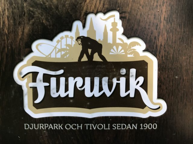 Furuvik Amusement Park And Zoo Sign