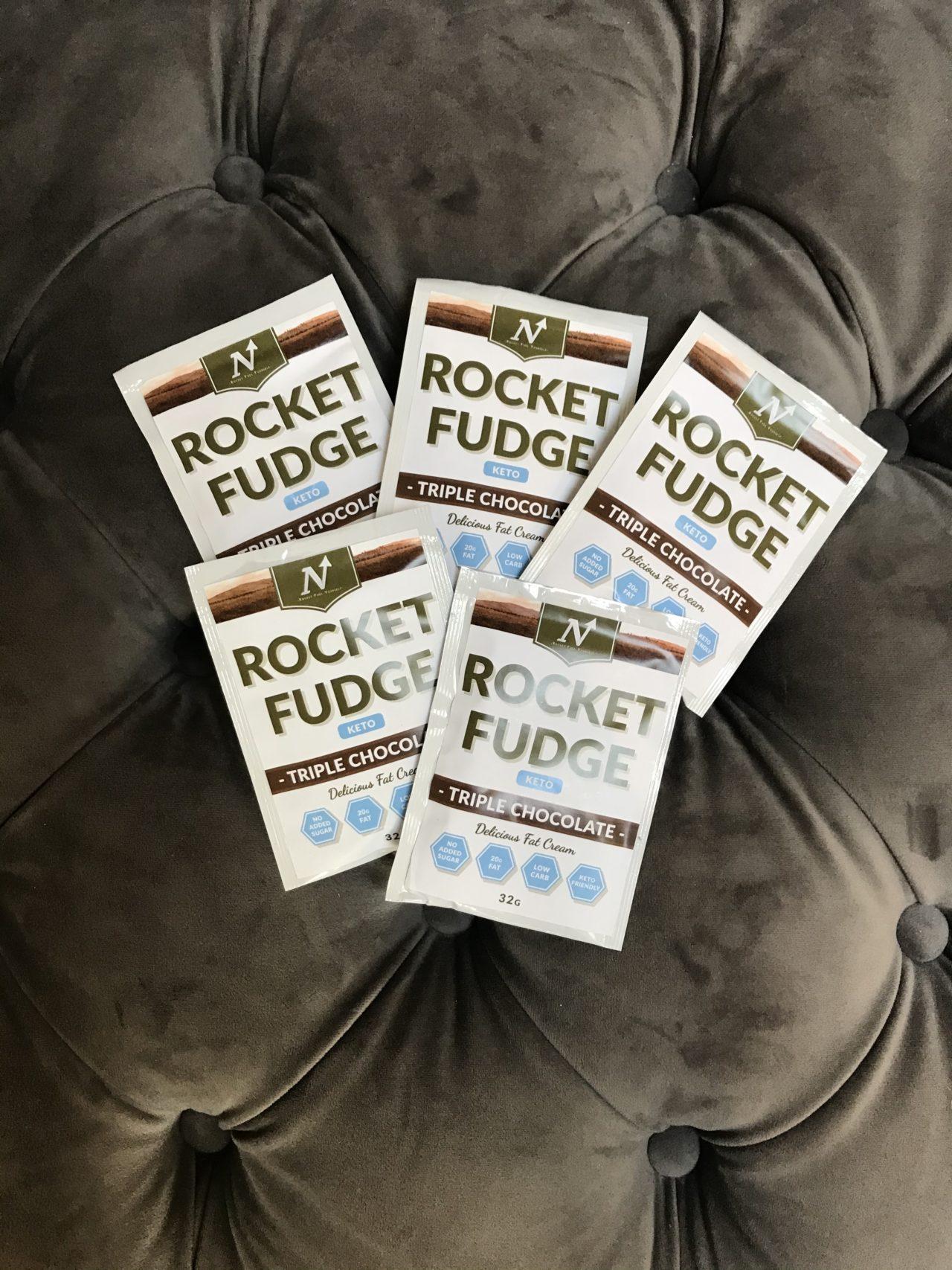 Rocket Fudge Triple Chocolate Pocket Packages
