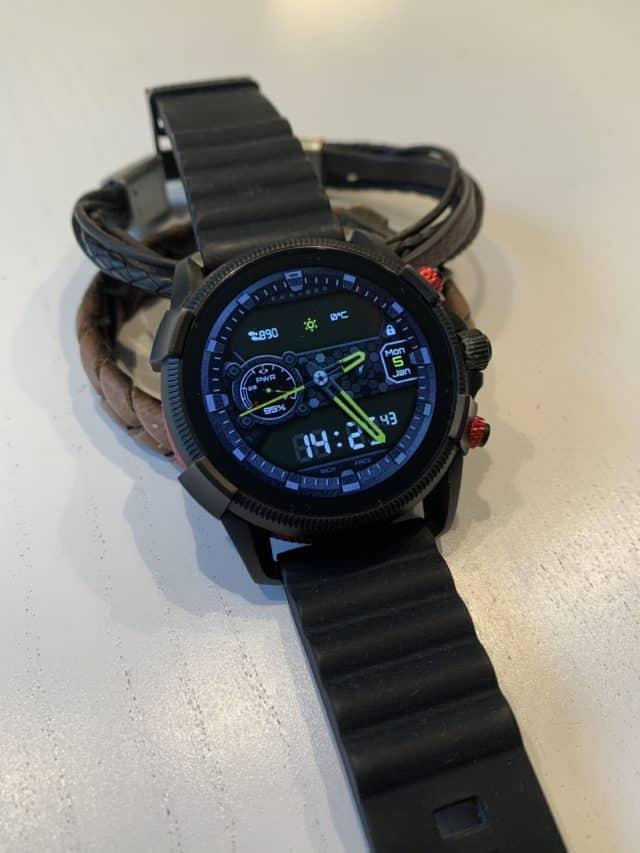 Black Diesel Smartwatch and Wrist Bands