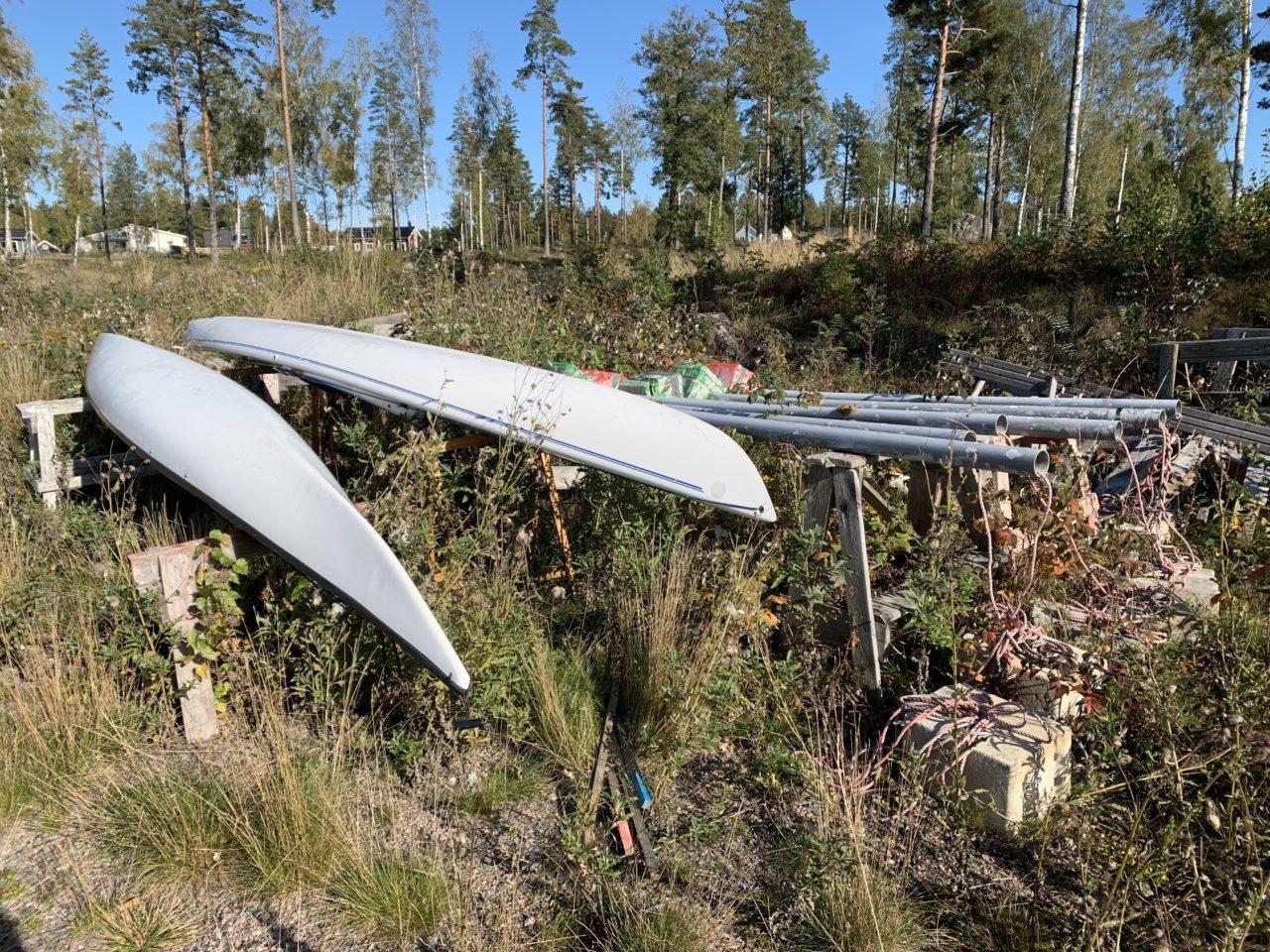 Kayak Winter Storage At Oceanside Forest