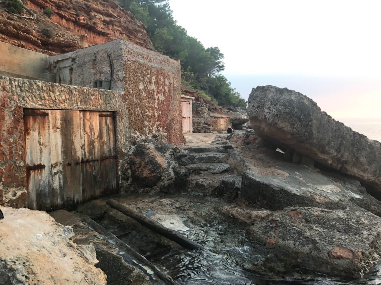 Ocean Caves By The Ocean Built Using Stone